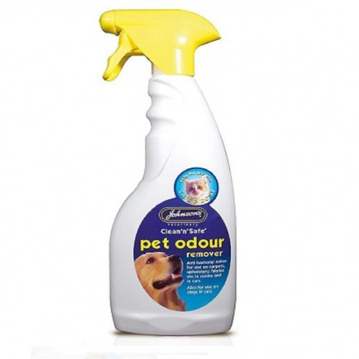 Johnson's Clean n Safe Pet Odour Remover 500 ml