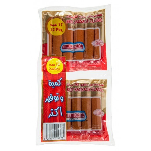 Americana Classic Beef Sausage 2 x 250 g