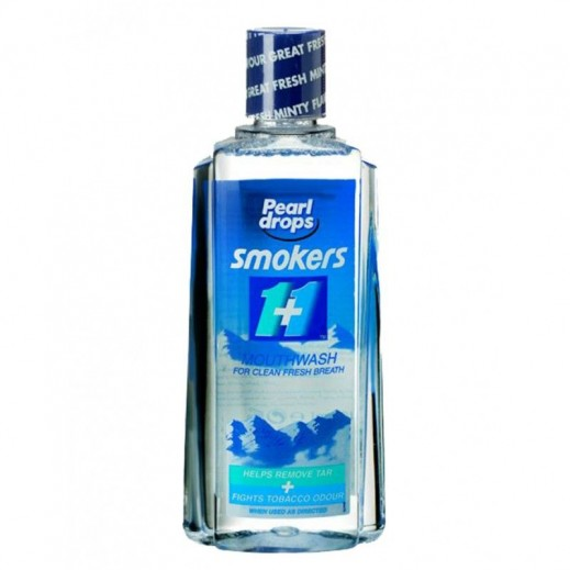 Pearl Drops Smokers Mouthwash 400 ml