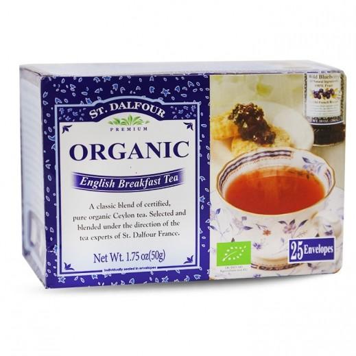 St.Dalfour Organic English Breakfast Tea 2 g (25 Sachet)