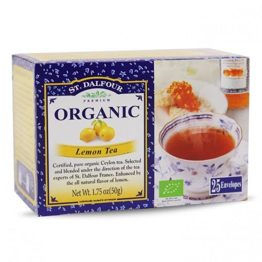 St.Dalfour Organic Lemon Tea 2 g (25 Sachet)
