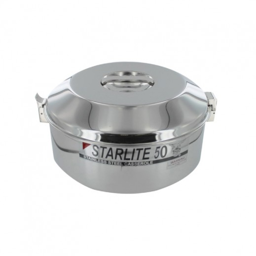 Eagle Starlite Stainless Steel Casserole 5 L