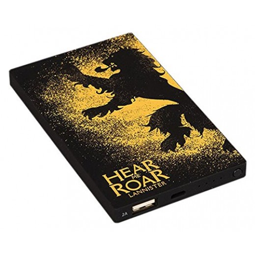 Tribe 4000 mAh Power Bank Deck Game of Thrones - Lannister