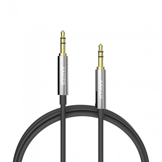 Anker Premium Auxiliary AUX cable (4ft /1.2m) Black