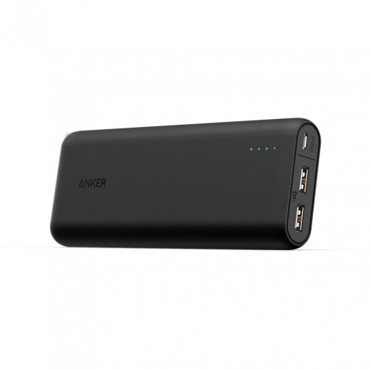 Anker PowerCore 20,100 Portable Charger Black