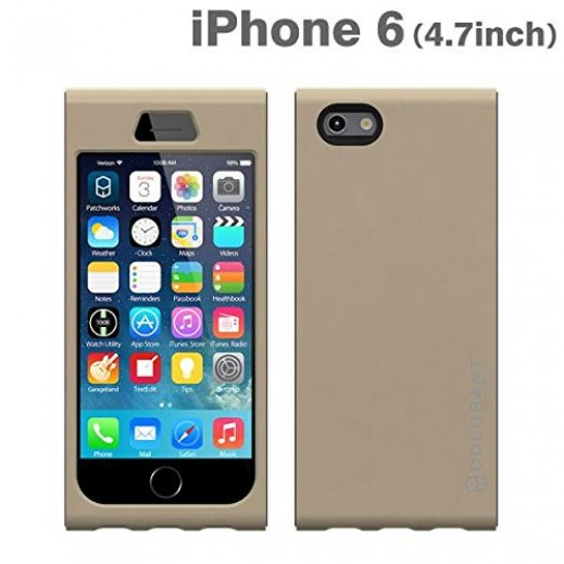 Colorant Link case For Iphone 6 - Champagne