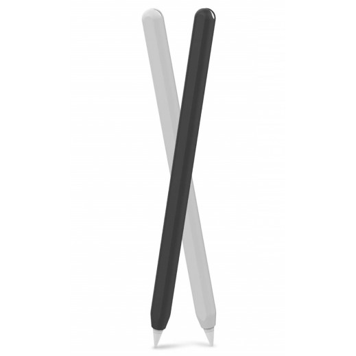 AHAStyle Cover for Apple Pencil 2nd Generation – Black & White