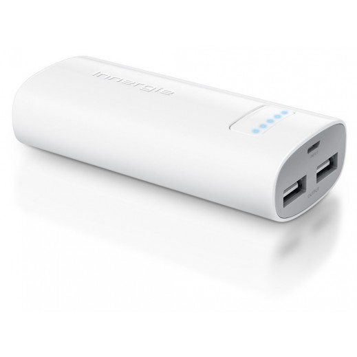 Innergie Pocketcell Duo Rechargeable battery Bank 6,800mAh White