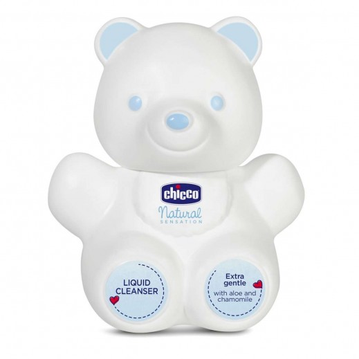 Chicco Natural Sensation Teddy Bear Liquid cleanser 300 ml