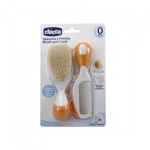 Chicco Brush and Comb - Orange
