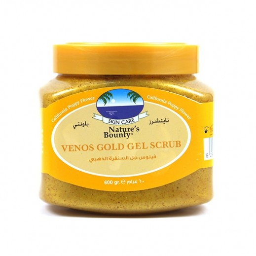 Nature's Bounty Venos Gold Scrub 600 ml