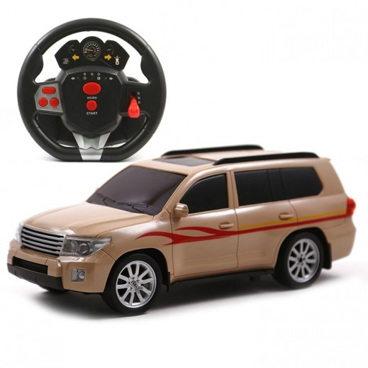 Desert king Charging Rc Toyota Car ( Assorted )