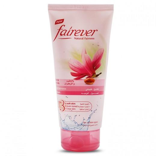 Fairever Natural Fairness Saffron & Pure Milk Face Wash 150 ml