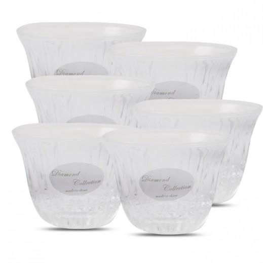 ASC Diamond Collection Cawa Cup Set - 6 Pieces