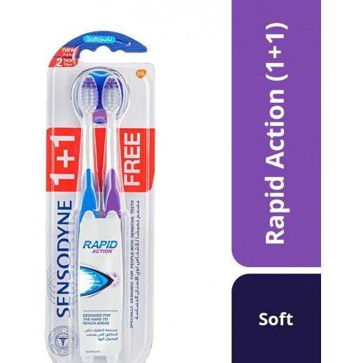 Sensodyne Rapid Action Toothbrush 1 + 1 Free