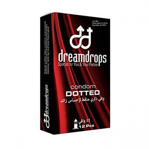 Dreamdrops Dotted Condom 12 Pieces