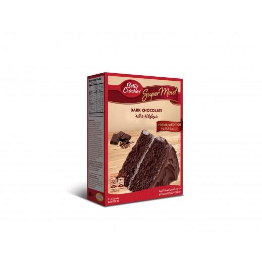 Betty Crocker Super Moist Dark Chocolate Cake Mix 510 g