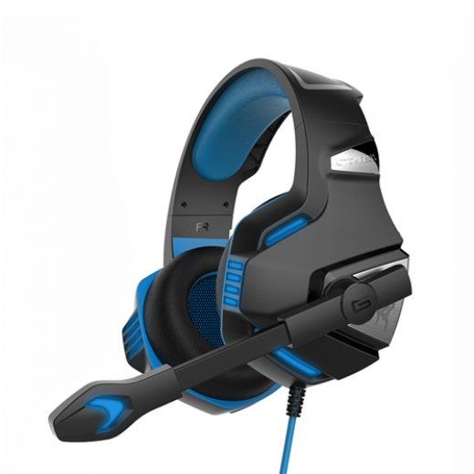KOTION EACH G7500 Computer Gaming Stereo Headset Earphone MultimediaLED With Mic - Blue