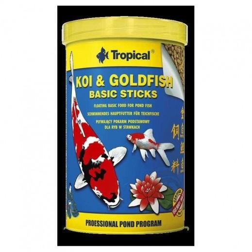 Tropical Koi Gold Fish Basic Sticks 85 g