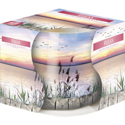 Aura Scented Candle with Decorative Film Relax 100 g