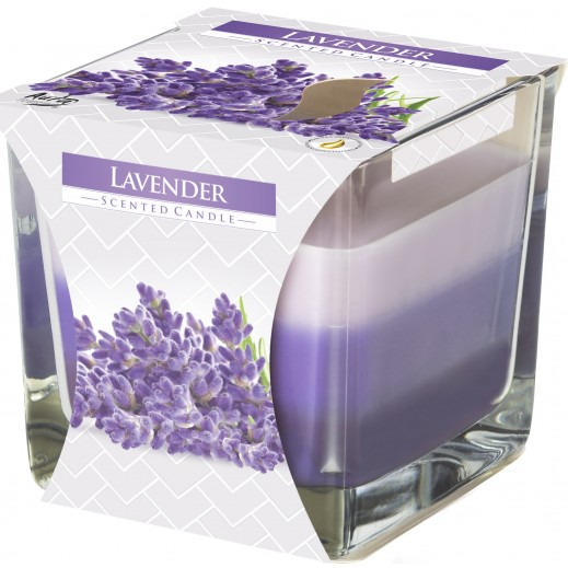 Aura 3 Coloured Scented Candle Lavender 170 g