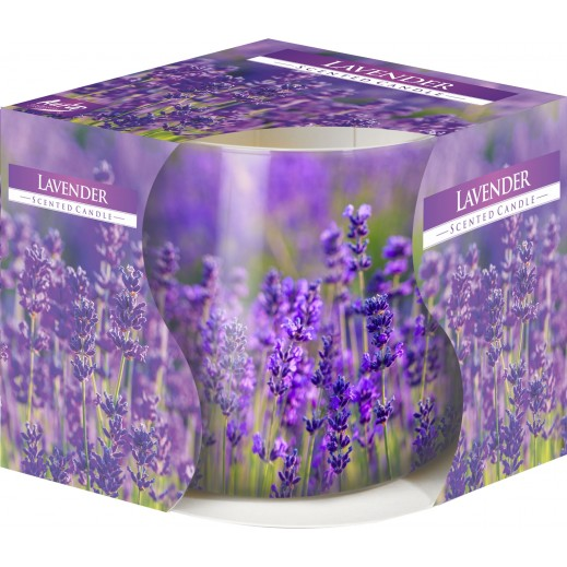 Aura Scented Candle with Decorative Film Lavender 100 g