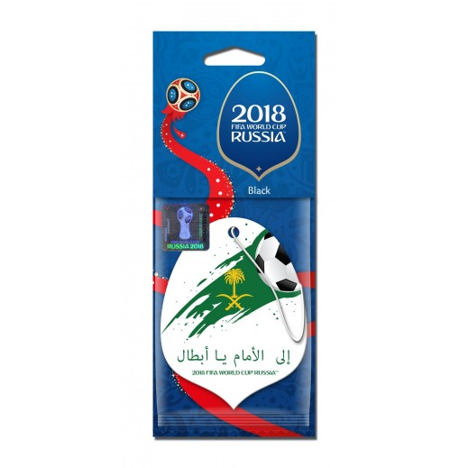 Aroma Car Freshener World Cup Fifa 2018  - Saudi Arabia