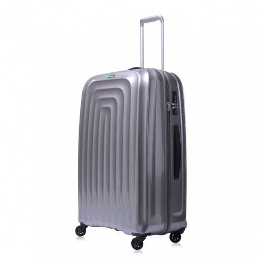 Lojel Wave Spinner Luggage Large Silver