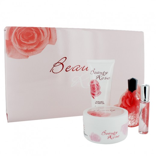 Beauty Rose Pink Perfume Set