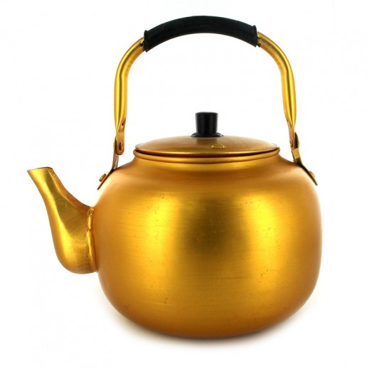Korean Fireplace Golden Kettle 4 Ltr