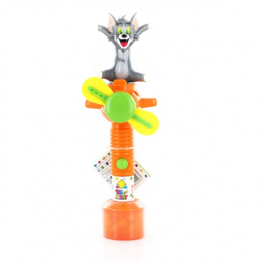 Tom & Jerry Light-Up Cool Fan With Candies 10g