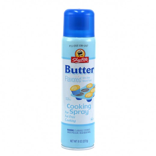 Shoprite Cooking Spary Butter 8 Oz