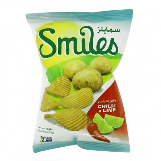 Fico Smiles Chilli & Lime Chips 170 g