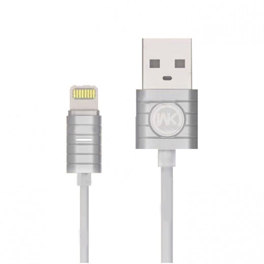 WK Design Lightning Cable for Apple 1 M – Silver