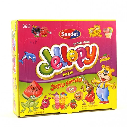 Saadet Mix Family Jelly 36x20 g