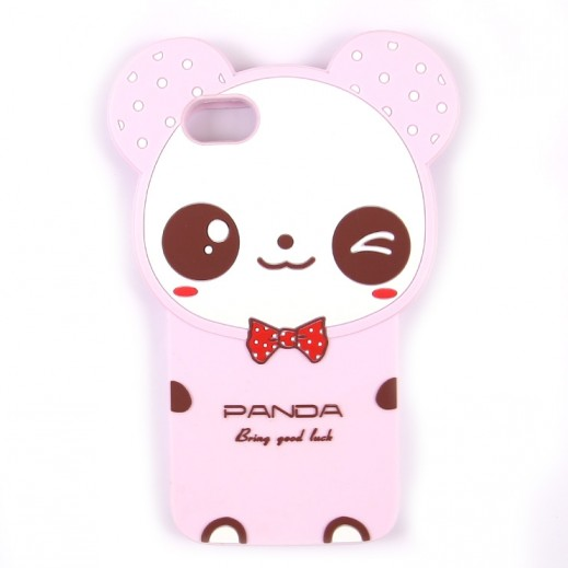 WK Design Silicone Bear Case for iPhone 7 / 8 - Pink