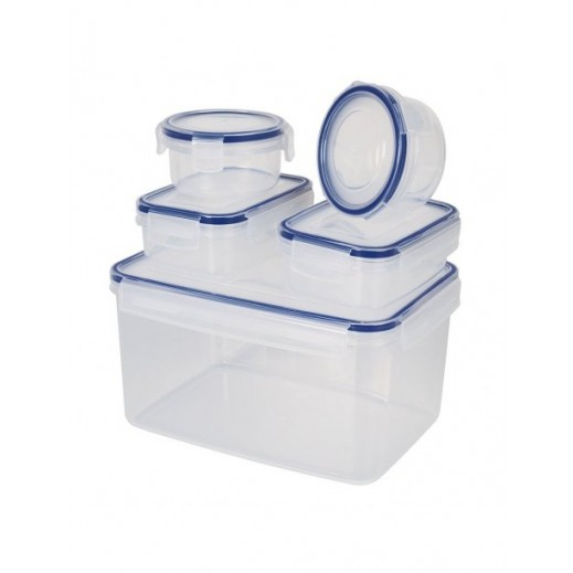Komax Biokips Plastic Container Set - 5 Pieces