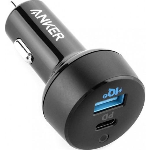 Anker PowerDrive PD+ Car Charger 33W – Black