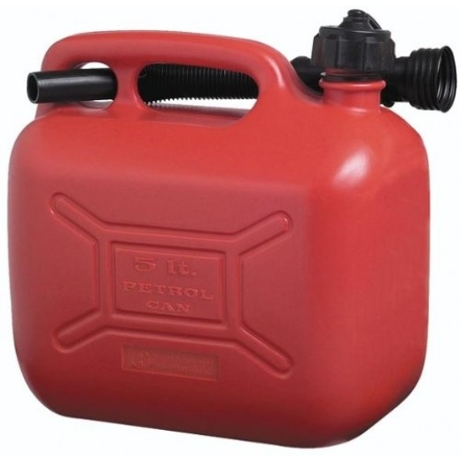 Duera 5 L Gasoline Tank - Red