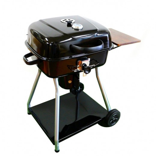 Char-Broil Deluxe Charcoal BBQ Grill 102 x 57 x 95 cm - delivered by Al Naki Company