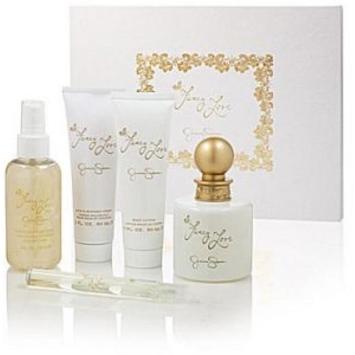 Jessica Simpson Fancy Love Gift Set For Her EDP 100 ml + EDP 10 ml + Body Lotion 90 ml + Bath & Shower Gel 90 ml + Body Mist 118 ml