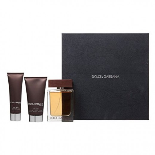 Dolce & Gabbana The One Gift Set For Him EDT 100 ml + After Shave Balm 75 ml + Shower Gel 50 ml