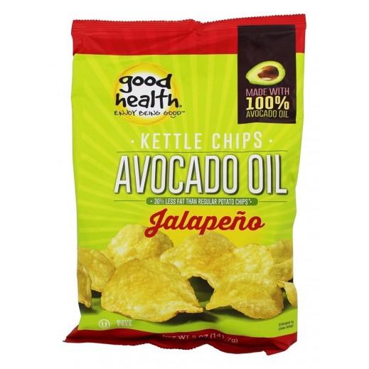 Good health avocado chips