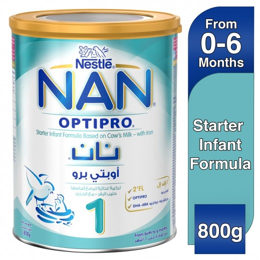 Nan Optipro With Iron Stage 1 (0 - 6 Months) 800 g