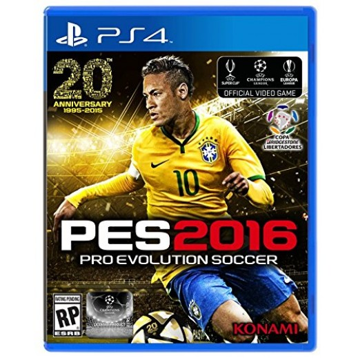 Pro Evolution Soccer 2016 for PS4 - NTSC