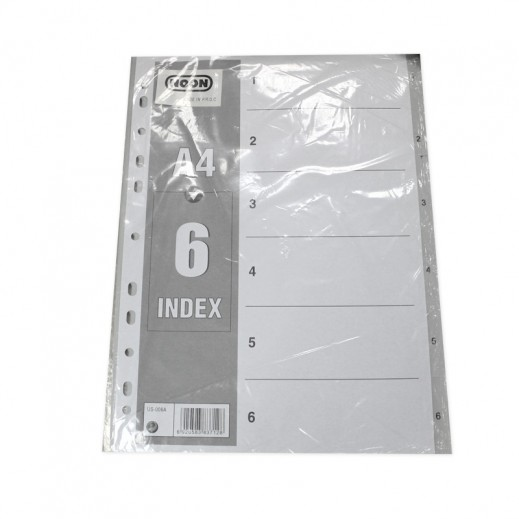 Noon A4 Index Devider 6 sheets