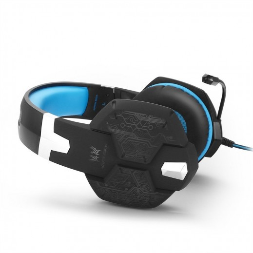Kotion Each LED Gaming Headset - Blue
