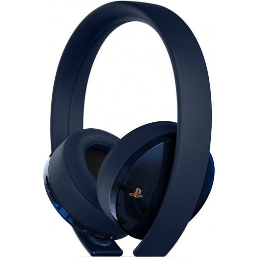 Sony Gold Wireless Headset Limited Edition for PS4 - Dark Blue
