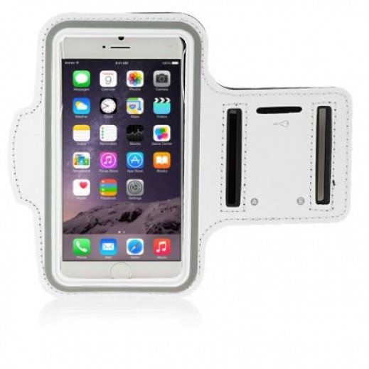 Sports Armband For iPhone 6 Plus White