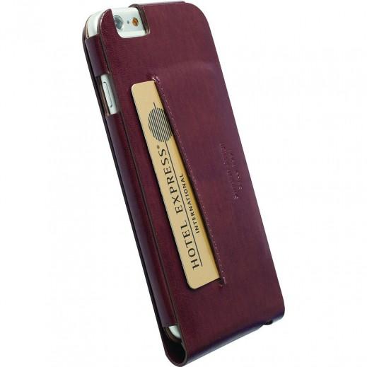 Krusell Kalmar WalletCase for iPhone-6 Brown